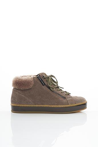 Bottines/Boots beige JB MARTIN pour femme