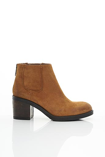 Bottines/Boots beige MINKA DESIGN pour femme