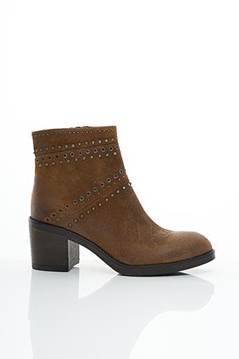 Bottines/Boots marron MINKA DESIGN pour femme