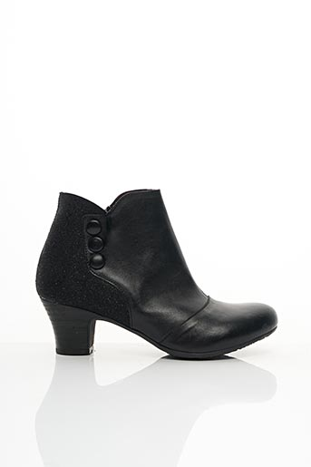 Bottines/Boots noir BRAKO pour femme