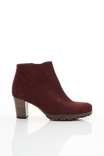 Bottines/Boots rouge GABOR pour femme