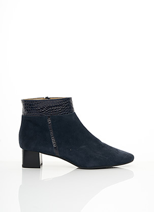 Bottines/Boots bleu BRENDA ZARO pour femme