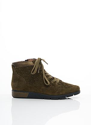 Bottines/Boots vert MAM'ZELLE pour femme