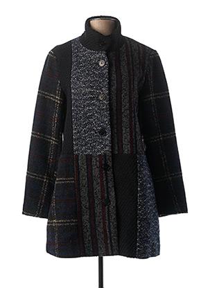 Manteau long bleu DESIGUAL pour femme