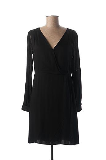 Robe courte noir LOLA ESPELETA pour femme