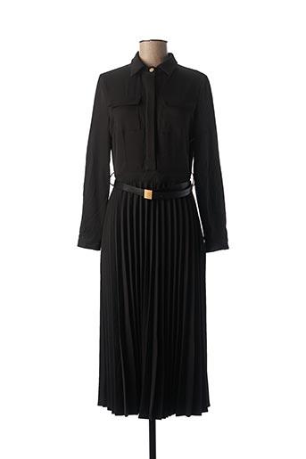 Robe mi-longue noir ELLI WHITE pour femme