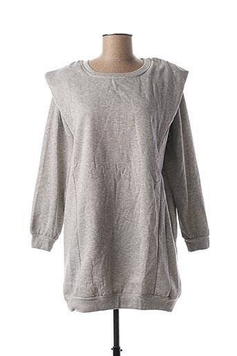 Sweat-shirt gris SEASON pour femme