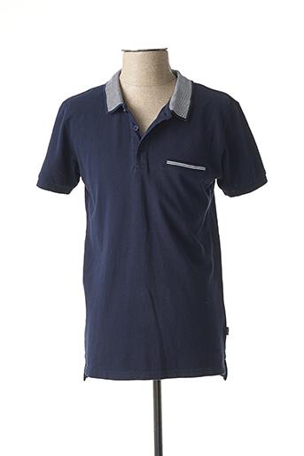 T-shirt manches courtes bleu TIFFOSI pour homme