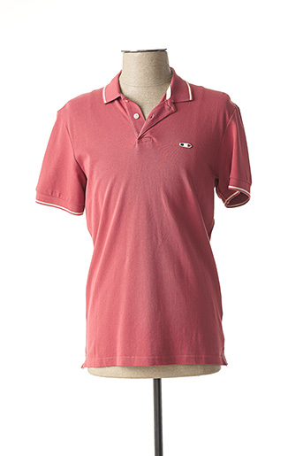 Polo manches courtes rose OXBOW pour homme