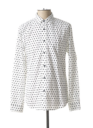 Chemise manches longues blanc TIFFOSI pour homme