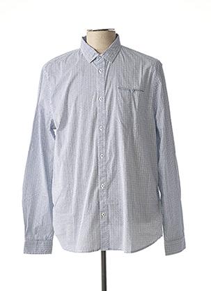 Chemise manches longues bleu PETROL INDUSTRIES pour homme