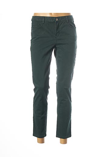 Pantalon 7/8 vert LOLA ESPELETA pour femme