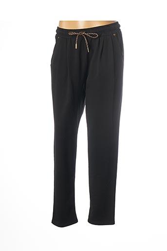 Pantalon casual noir PAKO LITTO pour femme