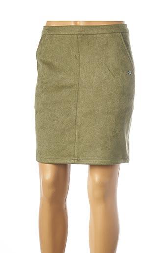 Jupe courte vert GARCIA pour femme