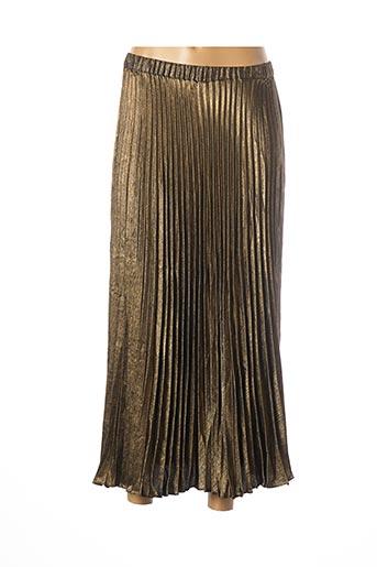 Jupe longue jaune I.CODE (By IKKS) pour femme