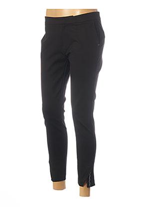 Pantalon 7/8 noir I.CODE (By IKKS) pour femme