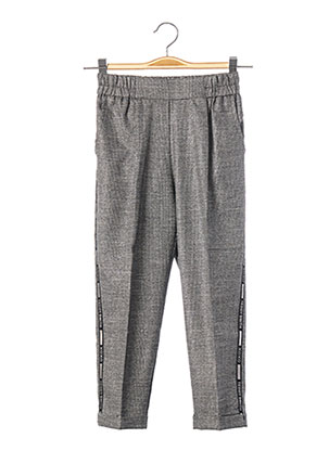 Pantalon casual gris TEDDY SMITH pour fille