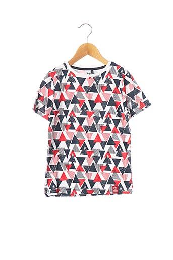 T-shirt manches courtes rouge 3 POMMES pour garçon