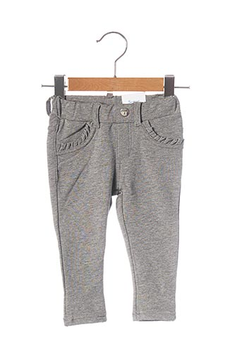 Pantalon casual gris MAYORAL pour fille