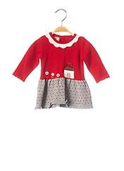 Robe mi-longue rouge MAYORAL pour fille seconde vue