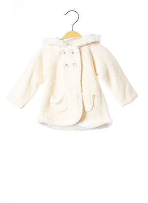 Manteau court beige MAYORAL pour fille