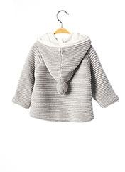 Manteau court gris MAYORAL pour fille seconde vue