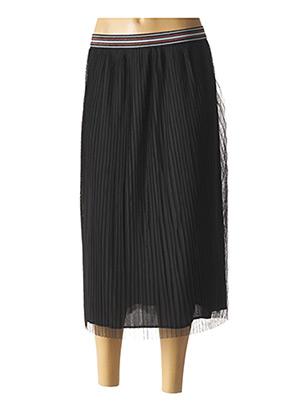 Jupe mi-longue noir BECKARO pour fille