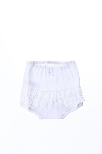 Slip/Culotte blanc ABSORBA pour fille