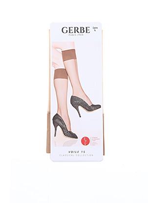 Chaussettes chair GERBE pour femme