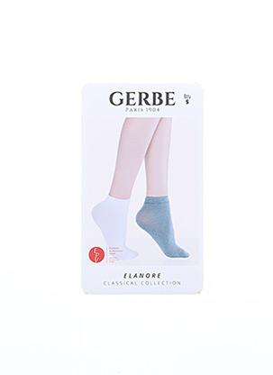 Chaussettes beige GERBE pour femme