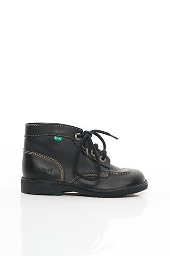 Bottines/Boots noir KICKERS pour garçon