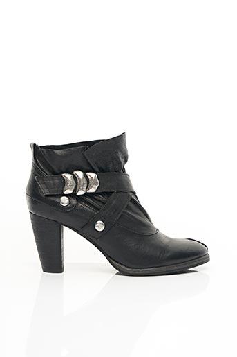 Bottines/Boots noir UME pour femme