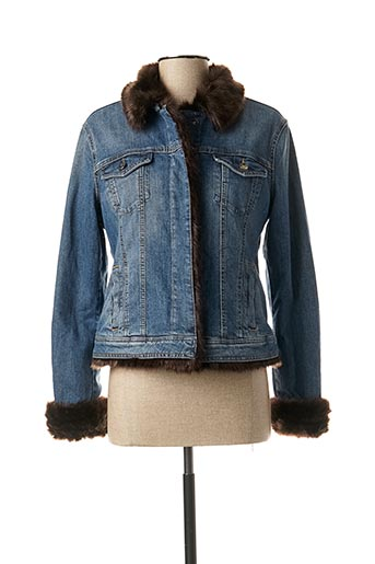 Veste en jean bleu LIU JO pour femme