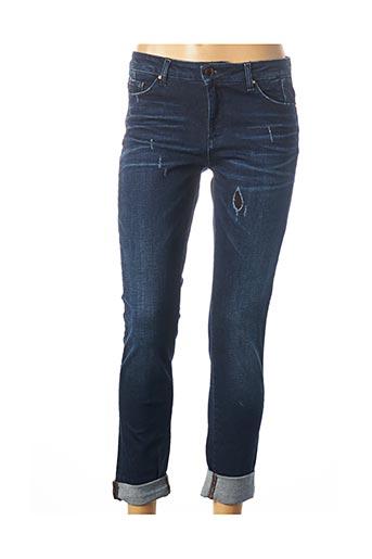 Jeans coupe slim bleu MAYJUNE pour femme