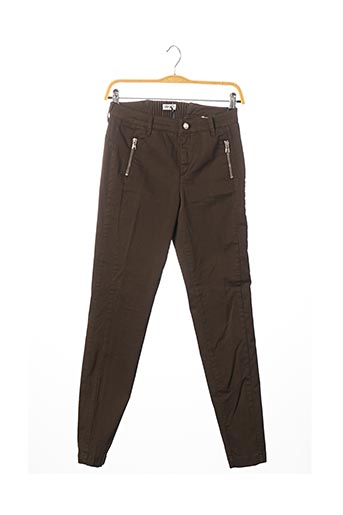 Pantalon casual marron LIU JO pour femme