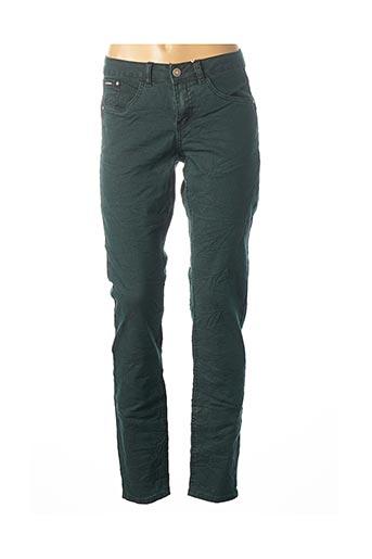 Pantalon casual vert CREAM pour femme