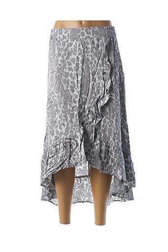 Jupe longue gris ALIX pour femme