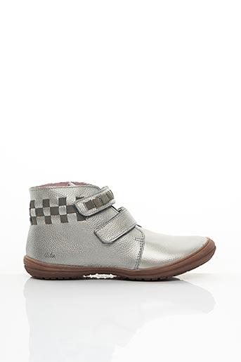 Boots gris ASTER pour fille