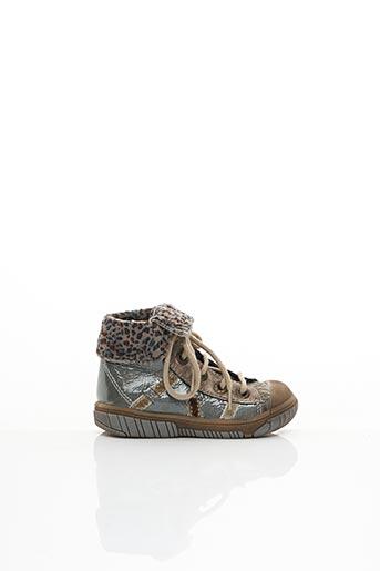 Bottines/Boots gris BABYBOTTE pour fille