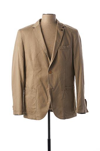 Veste chic / Blazer beige CAMEL ACTIVE pour homme