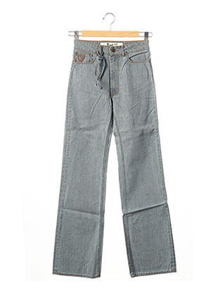 Jeans coupe large gris APRIL 77 pour femme