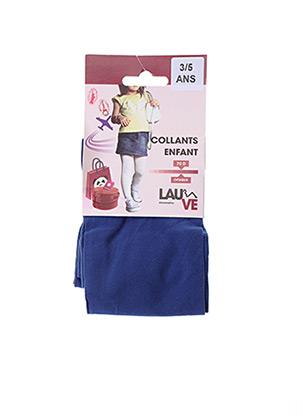 Collants bleu LAUVE pour fille