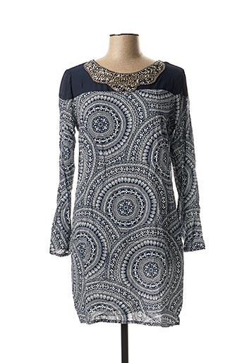 Robe courte bleu CC FASHION pour femme