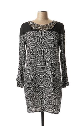 Robe courte noir CC FASHION pour femme