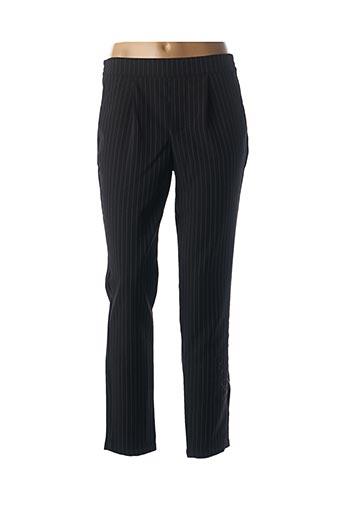 Pantalon chic noir JACQUELINE DE YONG pour femme