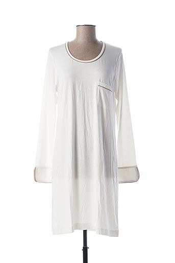 Chemise de nuit beige PILUS pour femme