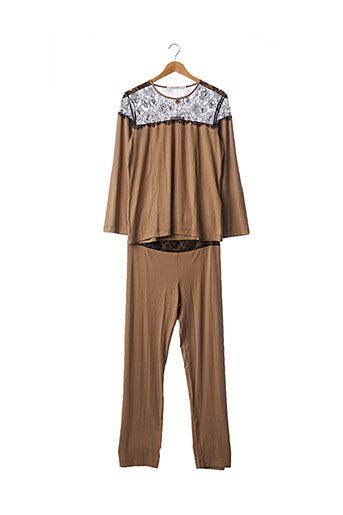 Pyjama beige PILUS pour femme