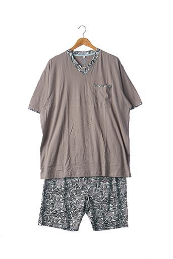 Pyjashort beige CHRISTIAN CANE pour homme