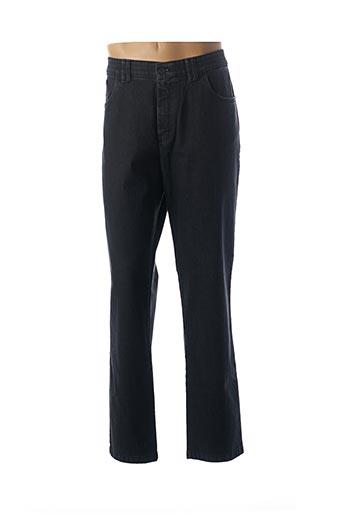 Jeans coupe droite noir LCDN pour homme