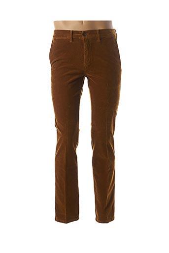 Pantalon casual marron LCDN pour homme